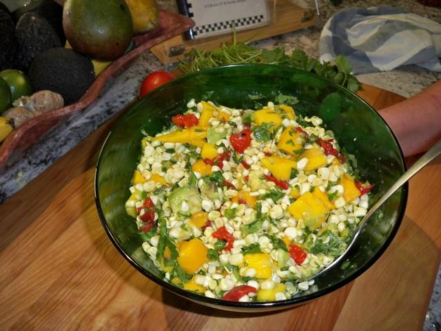 Dee's Corn & Mango Fiesta Salad