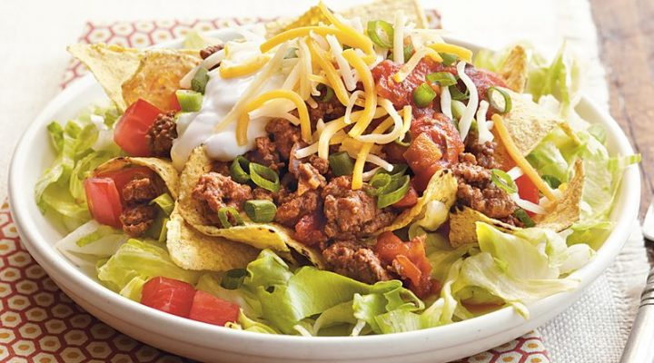 Dee's Kinda Healthy Taco Salad