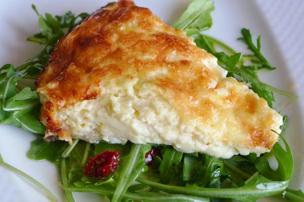 Silky Cheese Quiche