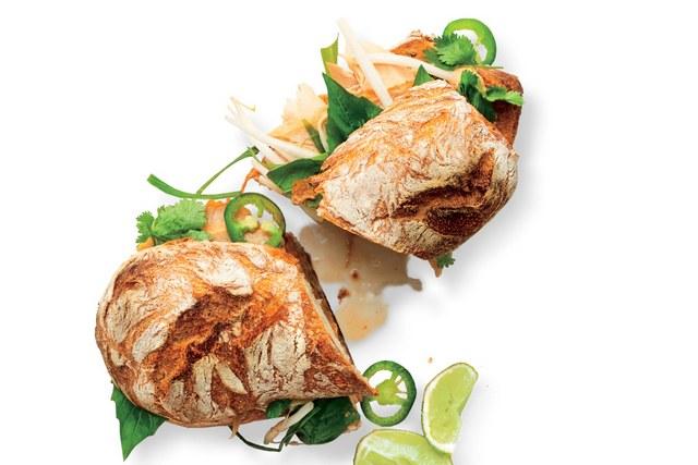 Turkey Pho Dip Sandwich