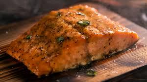 Dee's Cedar Plank Salmon