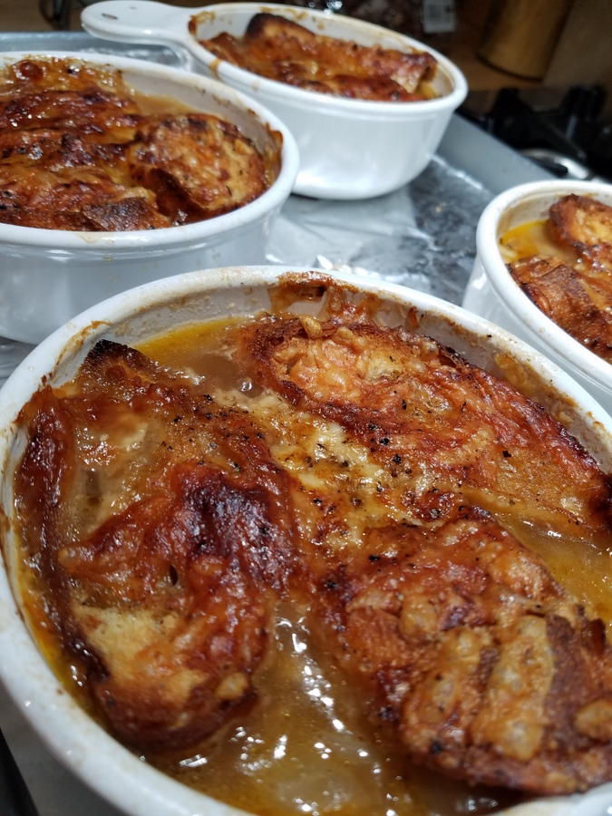 Dee's French Onion Soup au Gratin