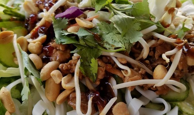 Southeast Asian Noodle Salad