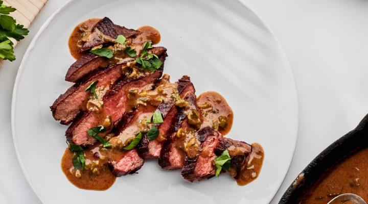 Steak Diane al la Dee