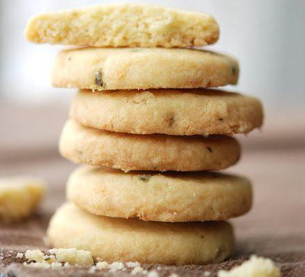 Rosemary Lemon Butter Cookies