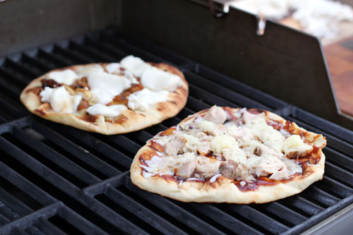 Pizza on the Barbie
