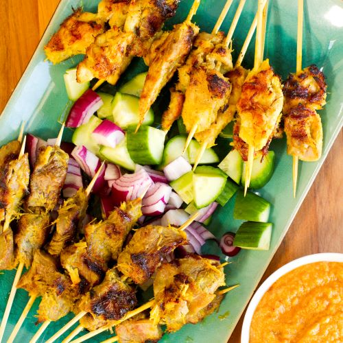 Dee's Chicken Satay and Peanut Sauce